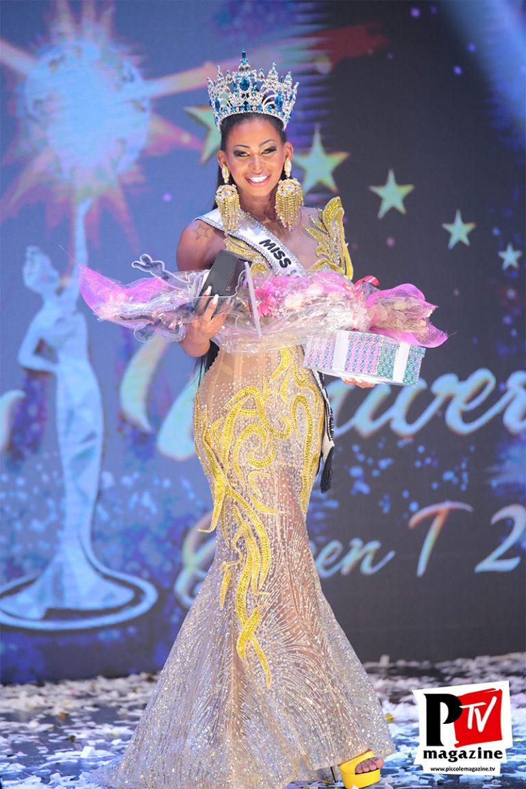 Vincitrice Miss Universo Queen T in Campania 2019